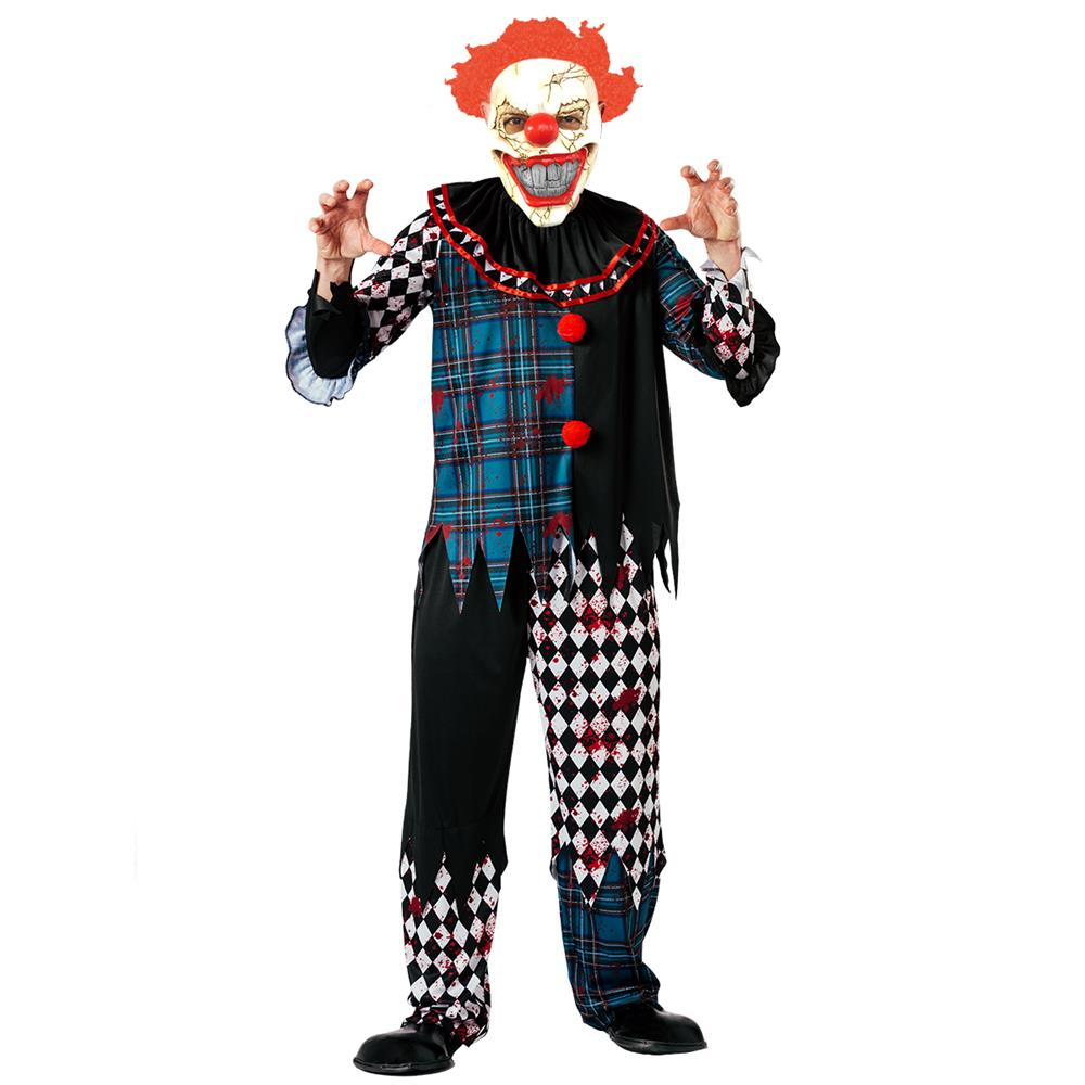 Picture of Hallow-Scream Mens Clown Costume