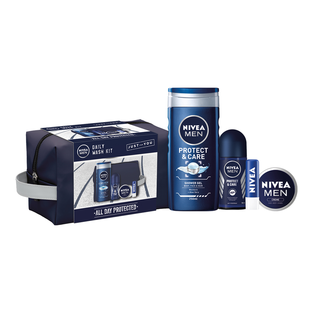 Picture of Nivea Men All Day Protected Daily Wash Kit