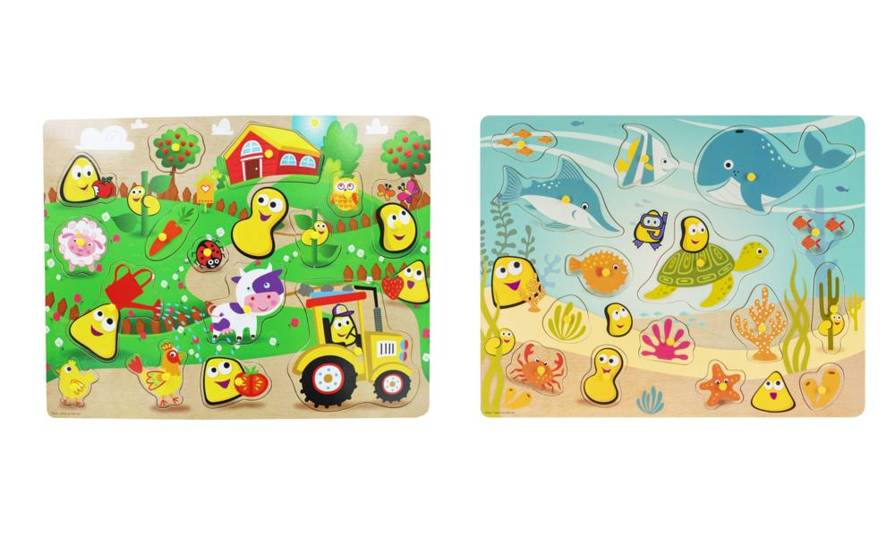 Picture of CBeebies Jumbo Wooden Puzzle