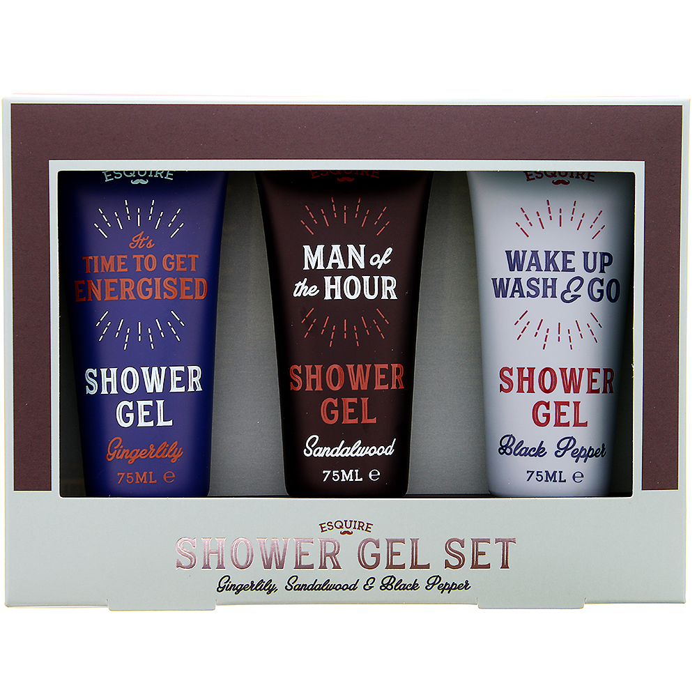 Picture of Esquire 3 Shower Gel Set