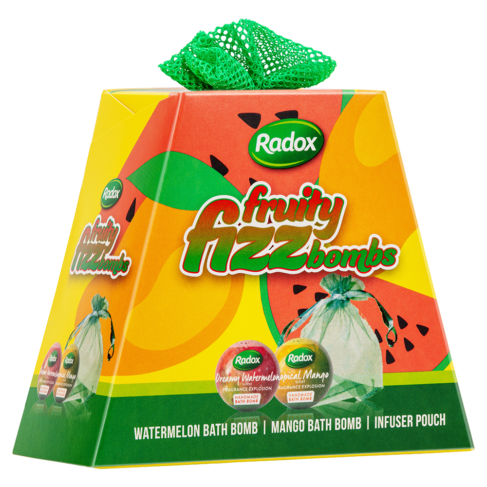 Picture of Radox Fruity Fizz Bombs Gift Set
