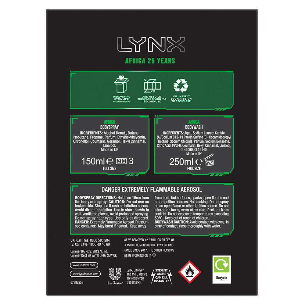 Picture of Lynx Africa 25 Year Duo Gift Set