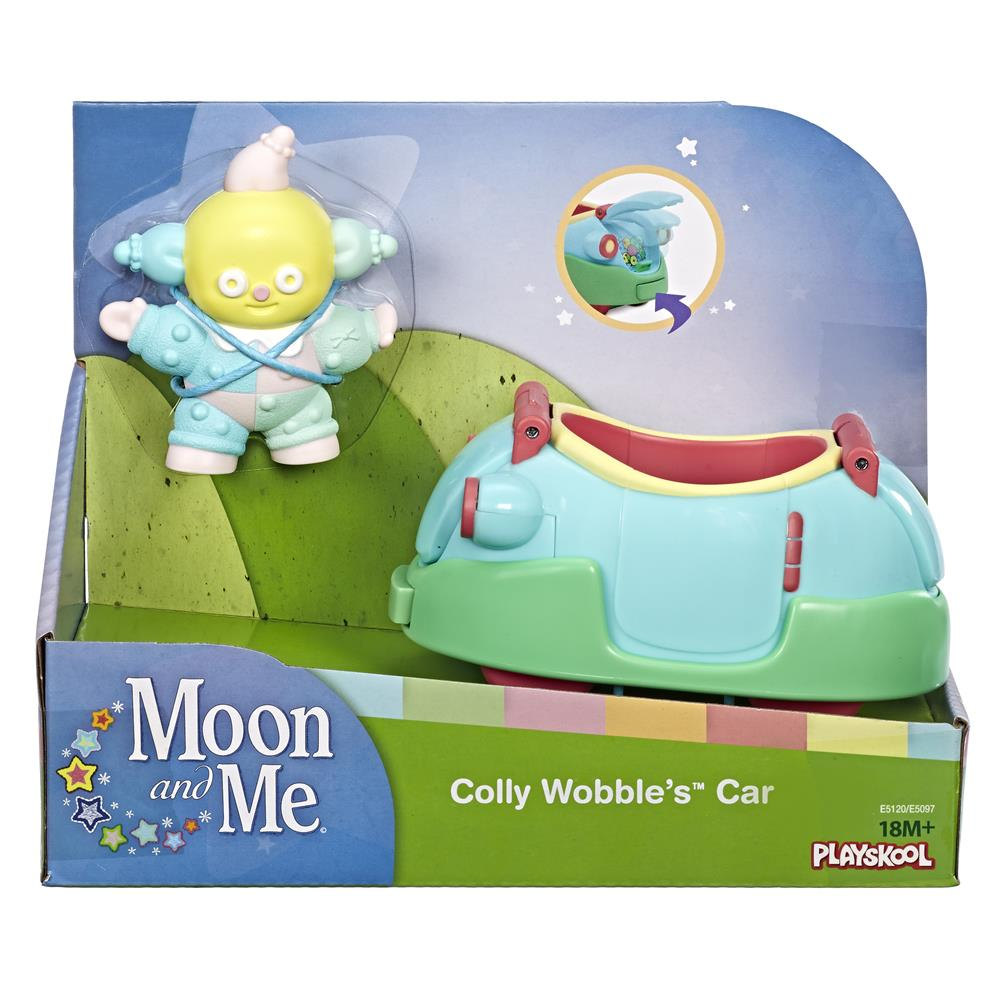 Picture of Moon and Me Figure with Vehicle