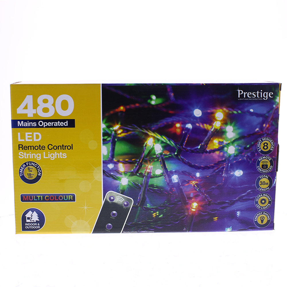 Picture of Prestige Lighting: 480 LED Remote Control String Lights