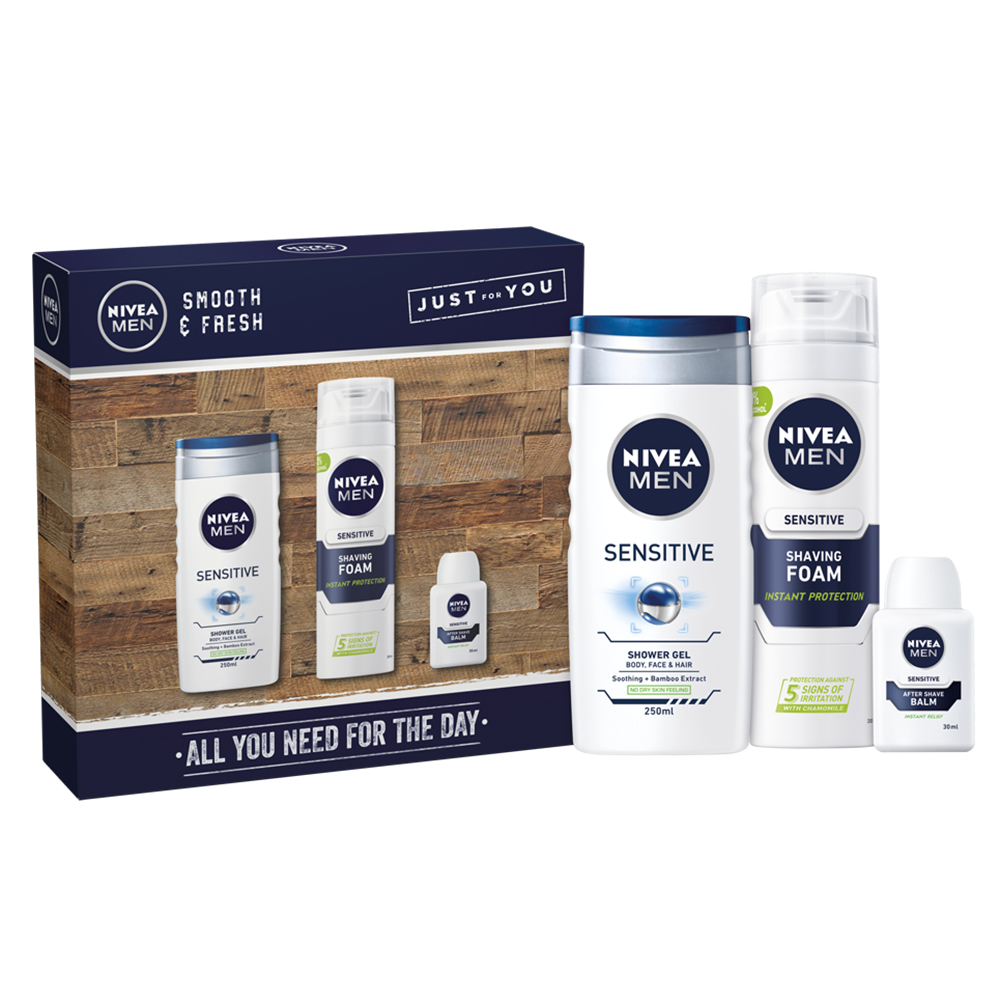 Picture of Nivea Men Smooth & Fresh All You Need For the Day Set