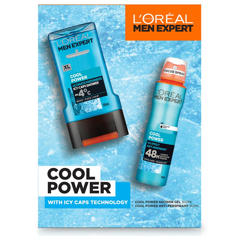 Picture of L'Oreal Men Expert Cool Power Gift Set