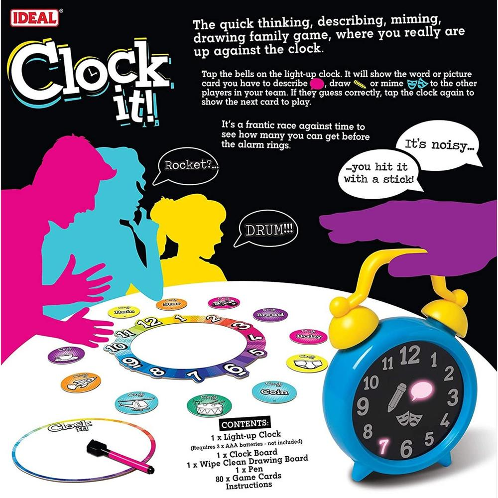 Picture of Clock it! Family Game