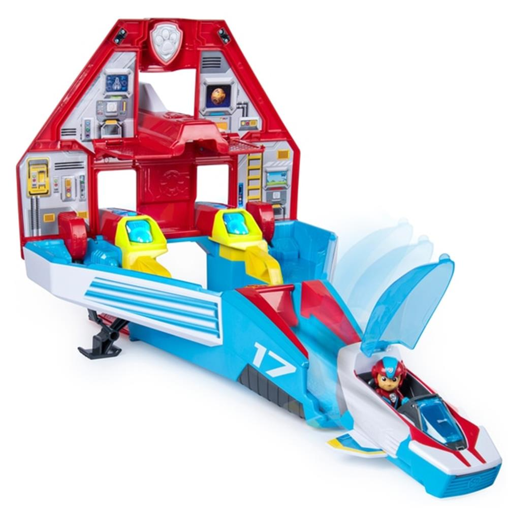 Picture of Paw Patrol Mighty Pups Super Paws Mighty Jet Command Centre