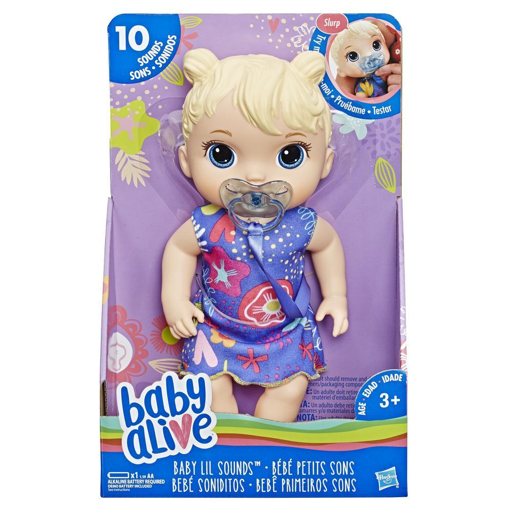 Buy Baby Alive Lil Sounds Doll at Home Bargains