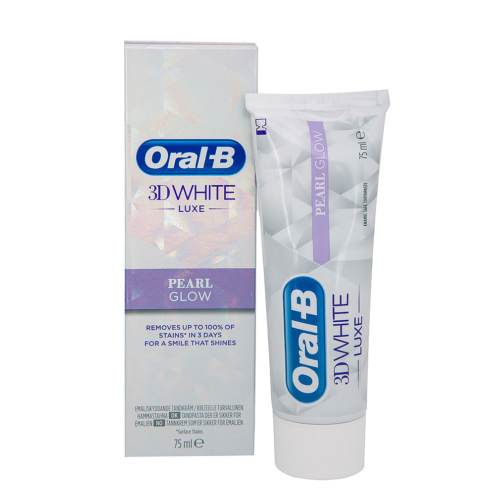 Picture of Oral-B 3D White Luxe Perfection Whitening Toothpaste 75ml