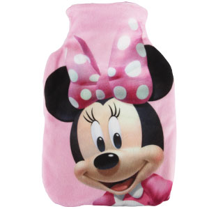 Buy Hot Water Bottle Minnie Mouse At Home Bargains