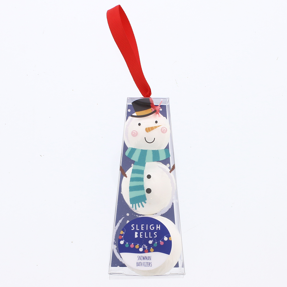 Picture of Sleigh Bells Snowman Bath Fizzers (Case of 12)