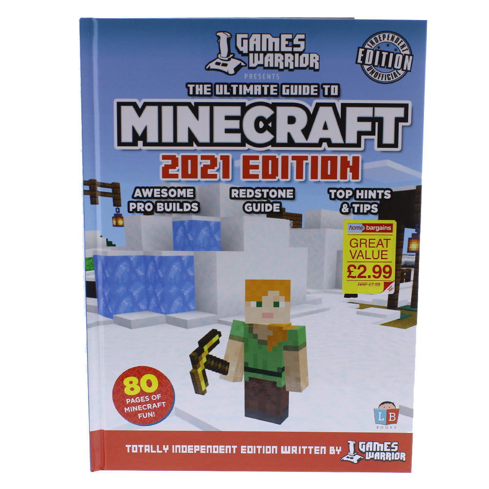 Buy Minecraft Annual 12 at Home Bargains