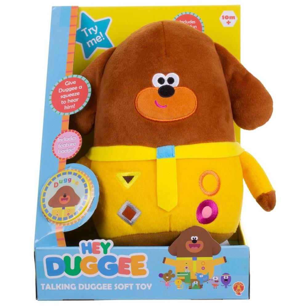 Picture of Hey Duggee Talking Duggee Soft Toy