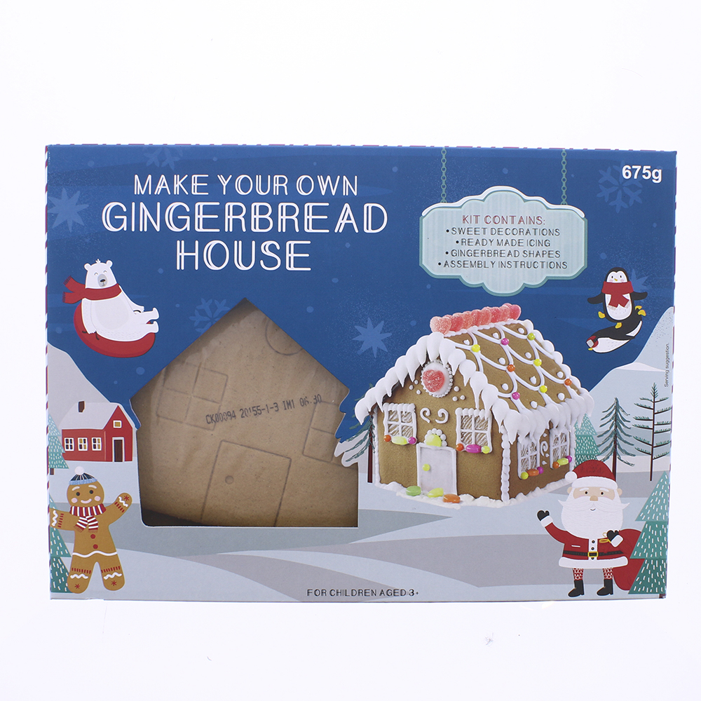 Picture of Make Your Own Gingerbread House 675g