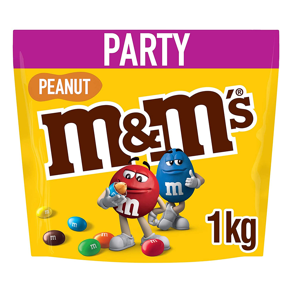 Picture of M&M's Peanut Chocolate Pouch 1kg