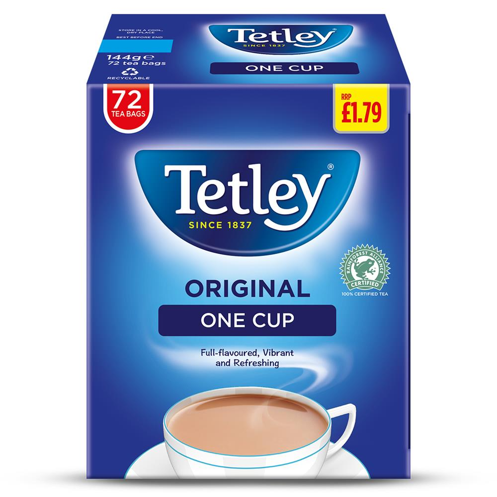 Picture of Tetley One Cup 72 Tea Bags