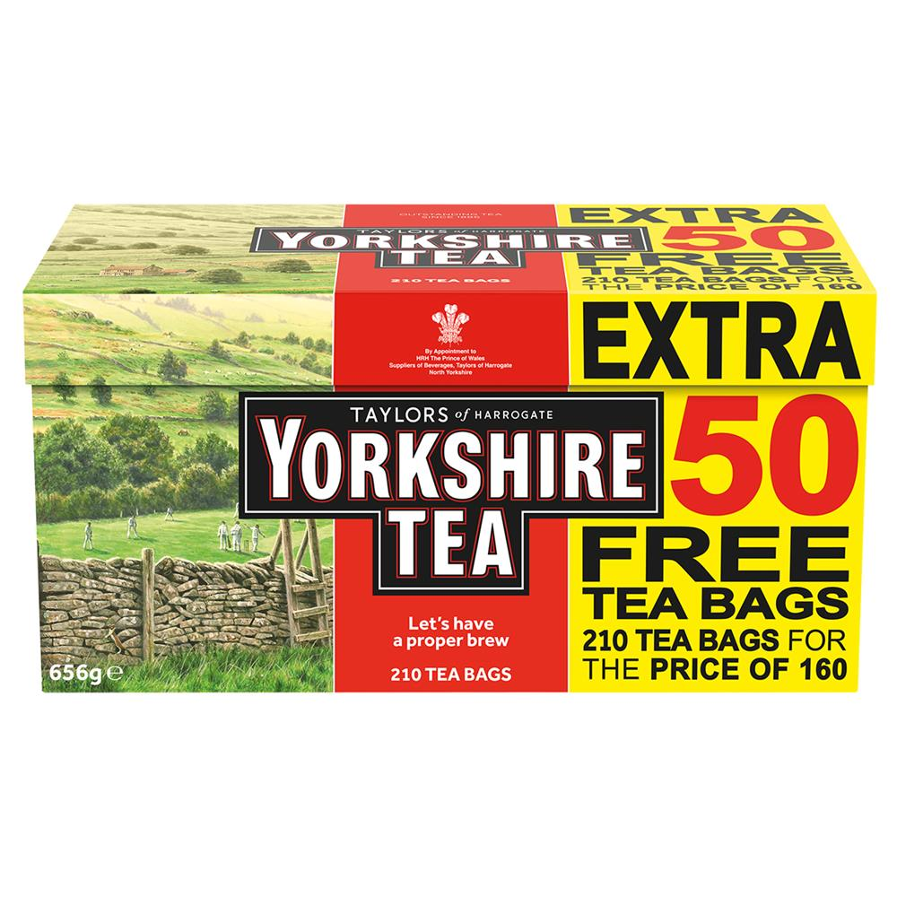 Picture of Yorkshire Tea: 210 Teabags 656g