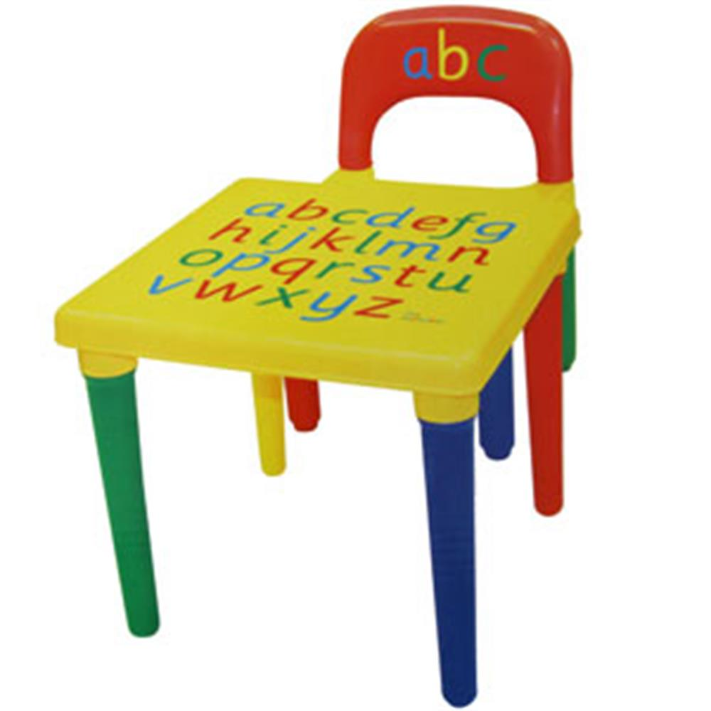 Picture of Alphabet Table & Chair Set