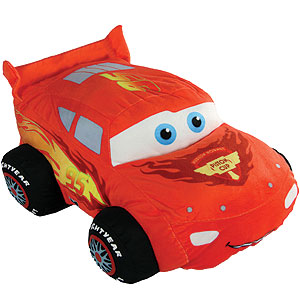 Buy Cars Lightning Mcqueen Large Plush Toy At Home Bargains