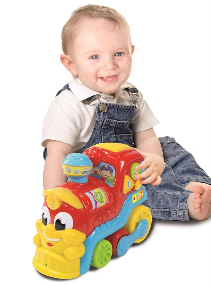 Picture of Baby Clementoni Bilingual Activity Train 123