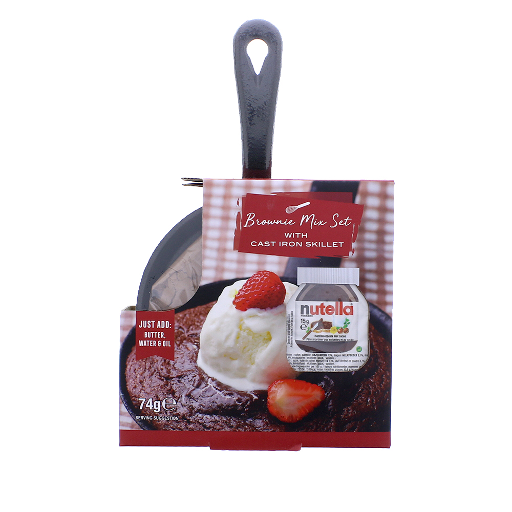 Picture of Nutella Brownie Mix Set & Skillet 74g
