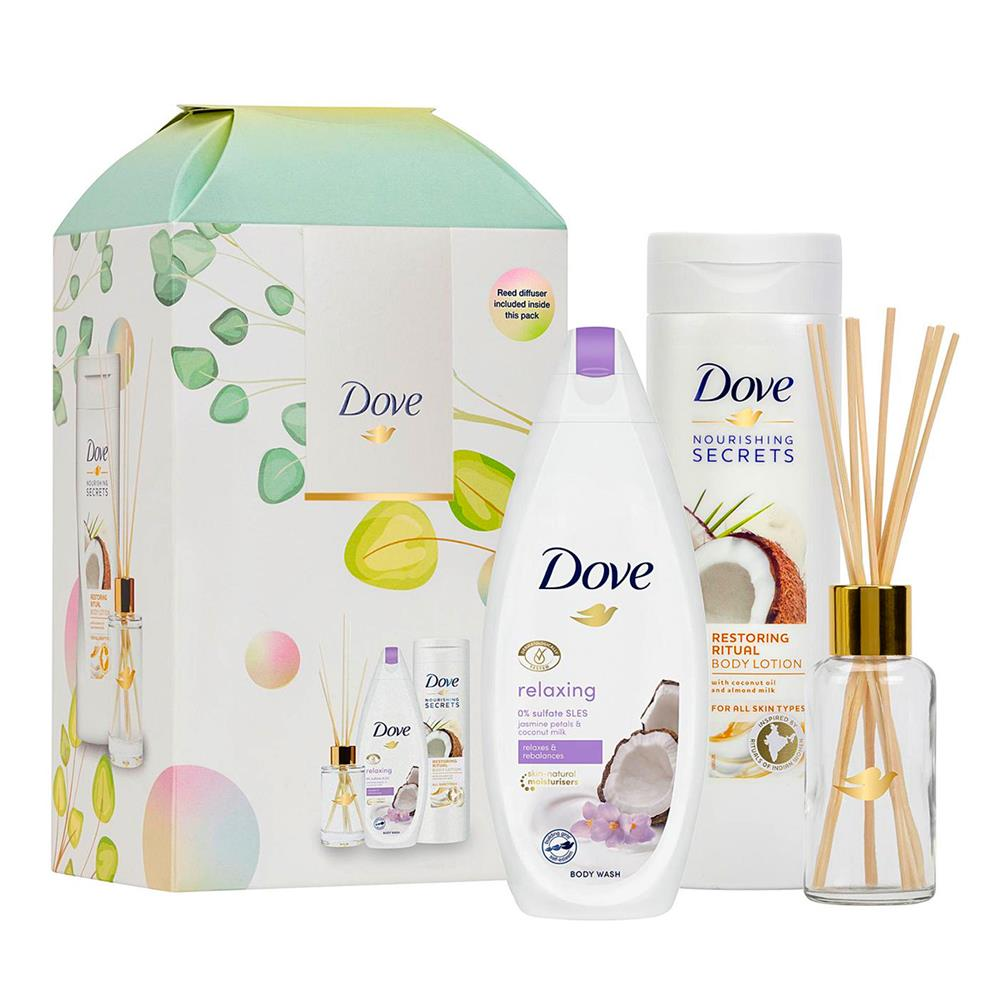 Picture of Dove Nourishing Secrets Relaxing Ritual Gift Set with Reed Diffuser