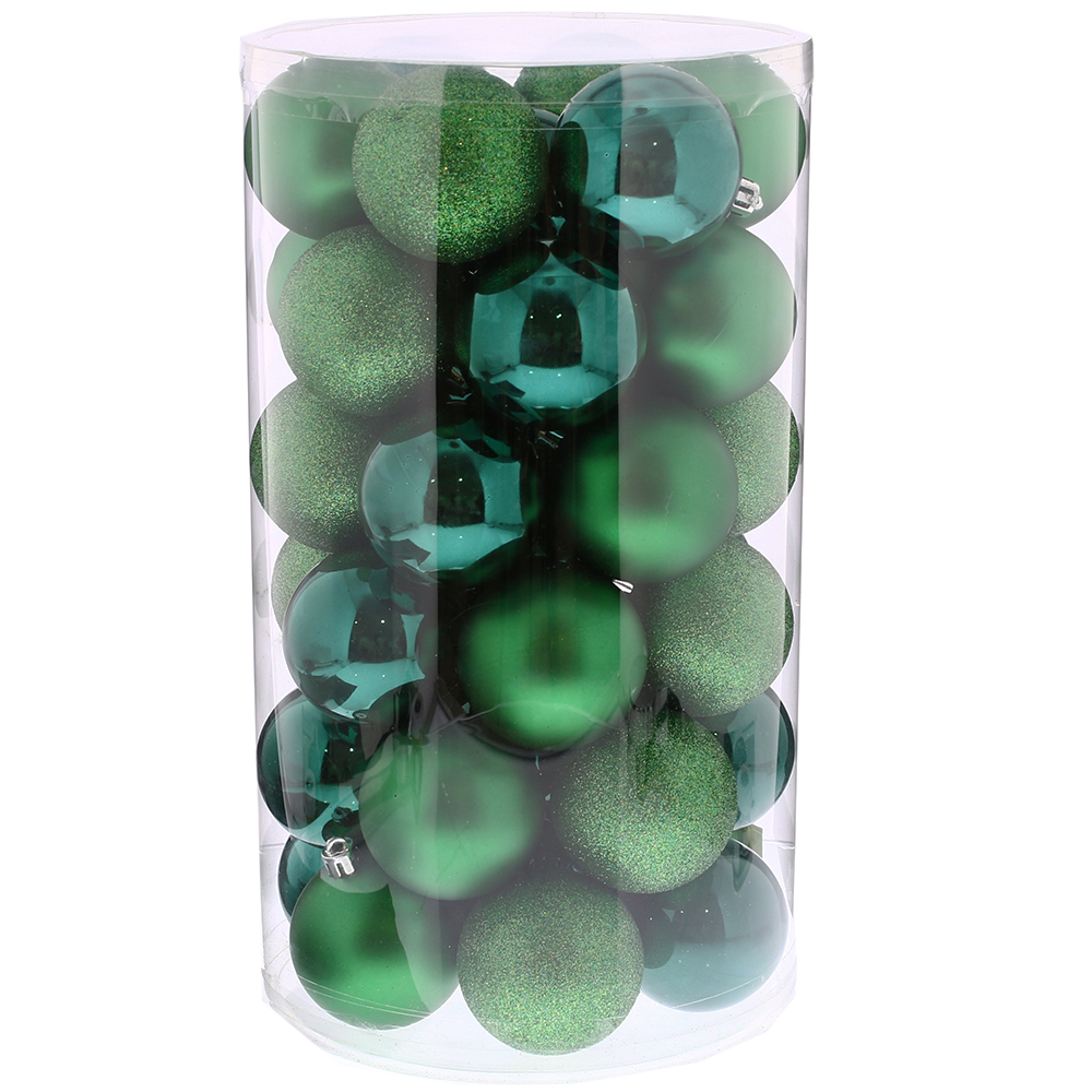 Picture of Noel 41 Piece Green Christmas Bumper Bauble Pack
