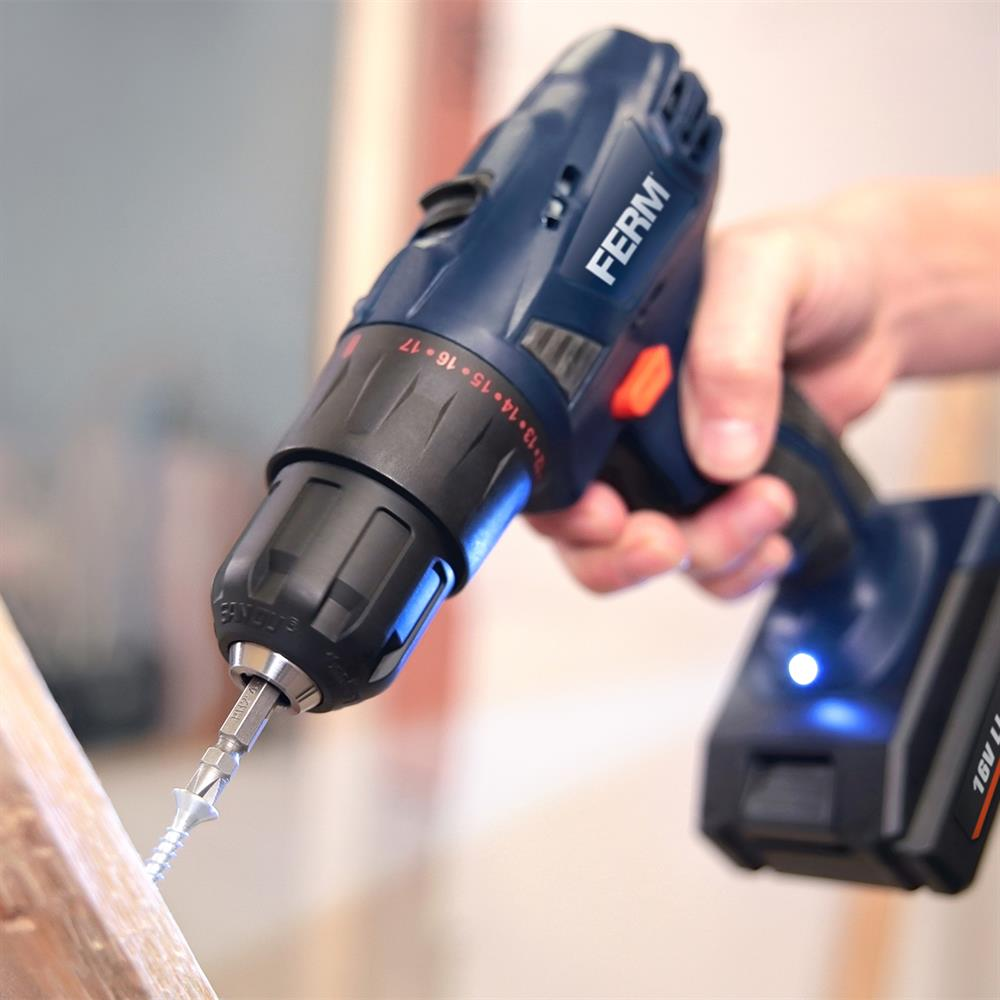 Picture of Ferm Cordless Li-ion Drill 16v