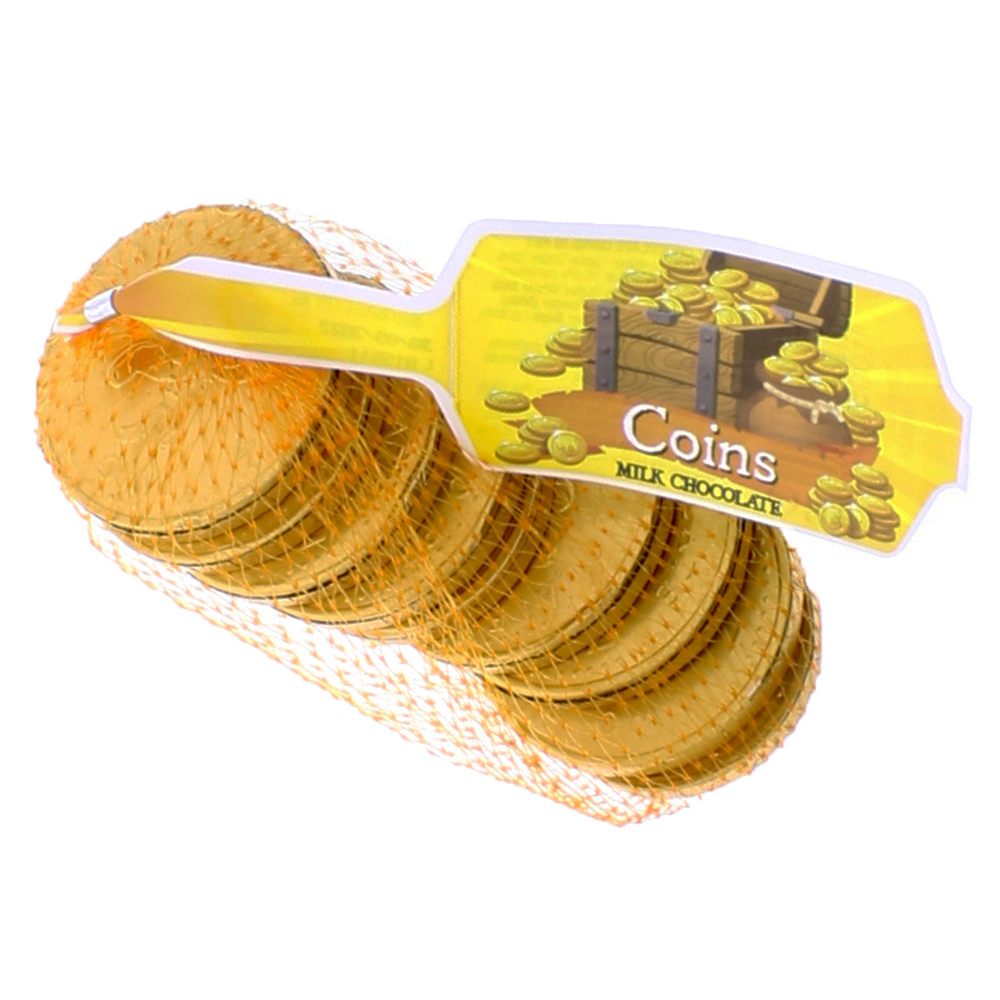 Picture of Milk Chocolate Coins 90g (110x)