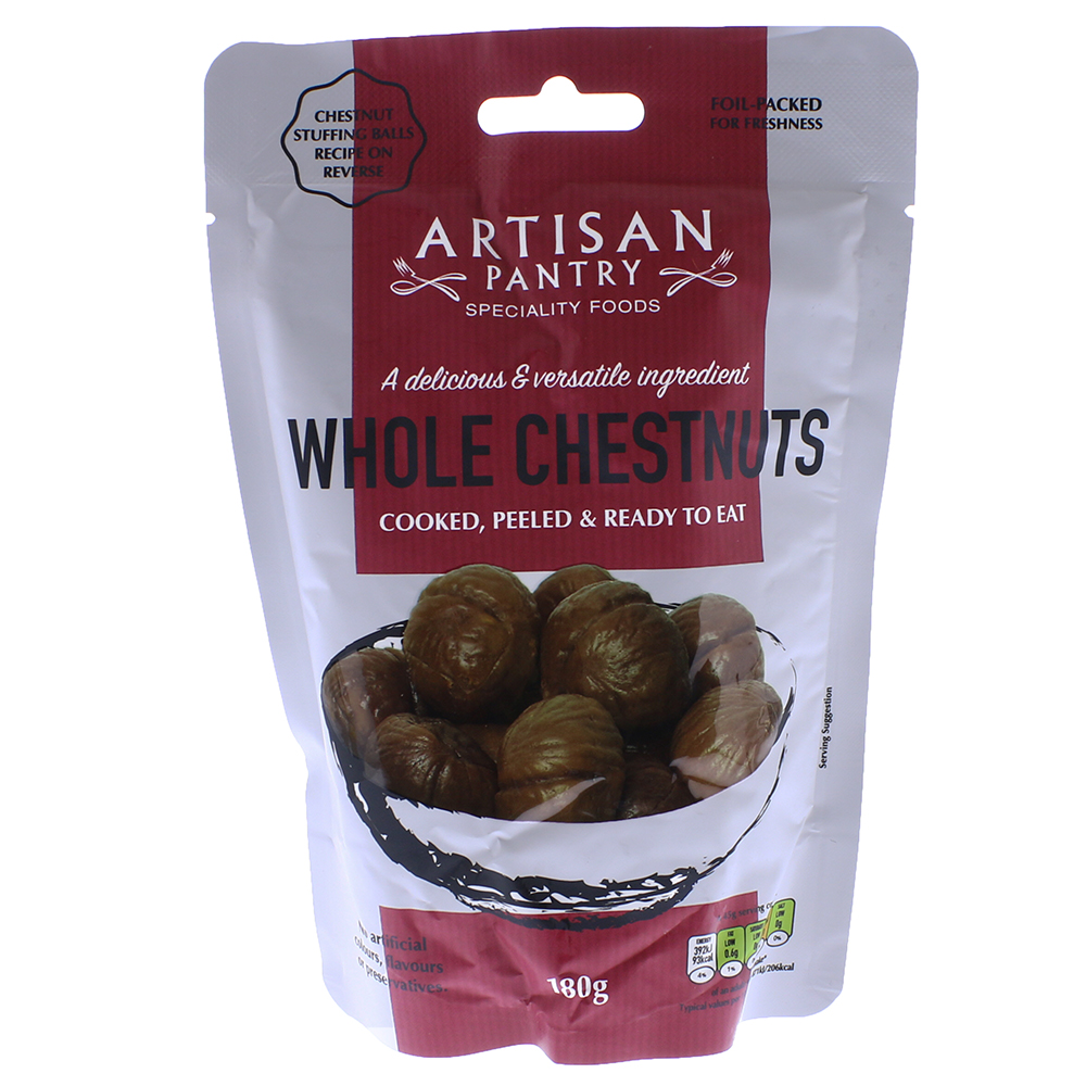 Picture of Artisan Pantry Whole Chestnuts 180g