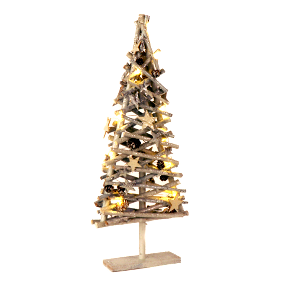 Picture of Jeff Banks Xmas Wooden LED Christmas Tree