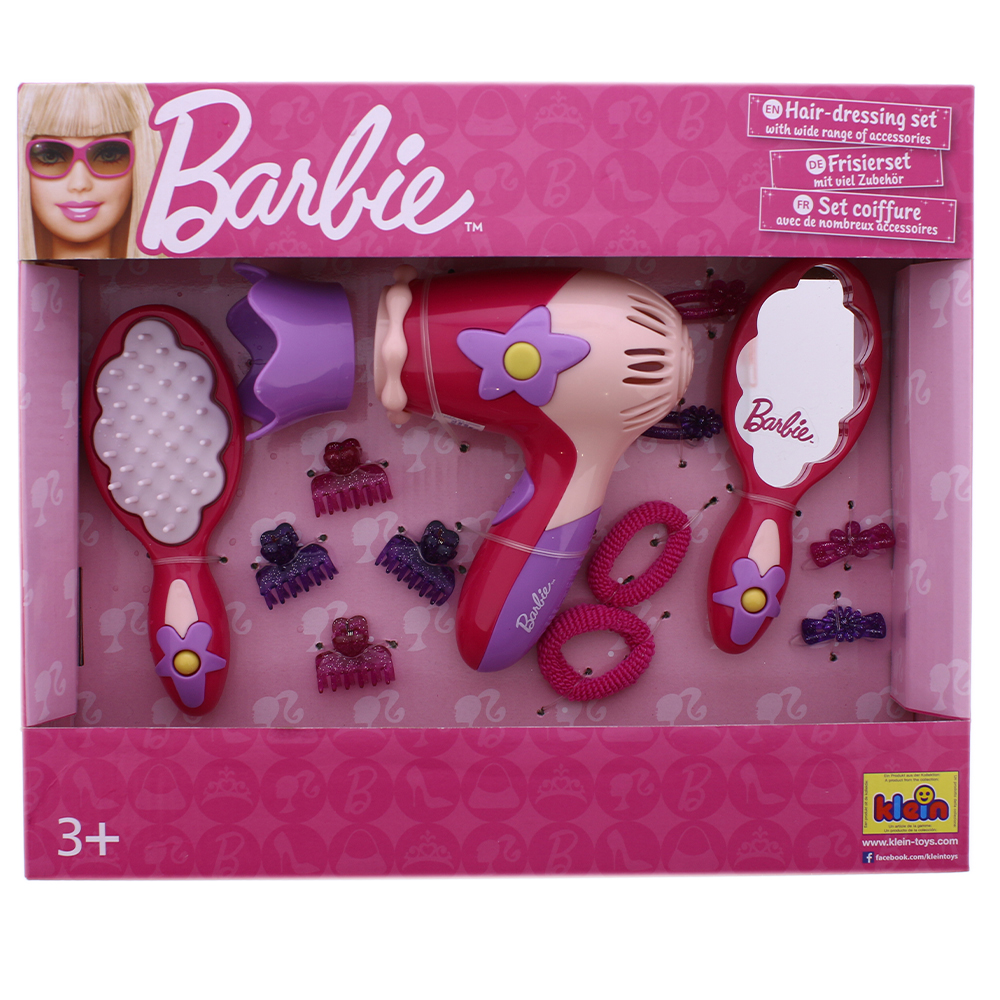 Picture of Barbie Hair Dressing Kit With Hairdryer