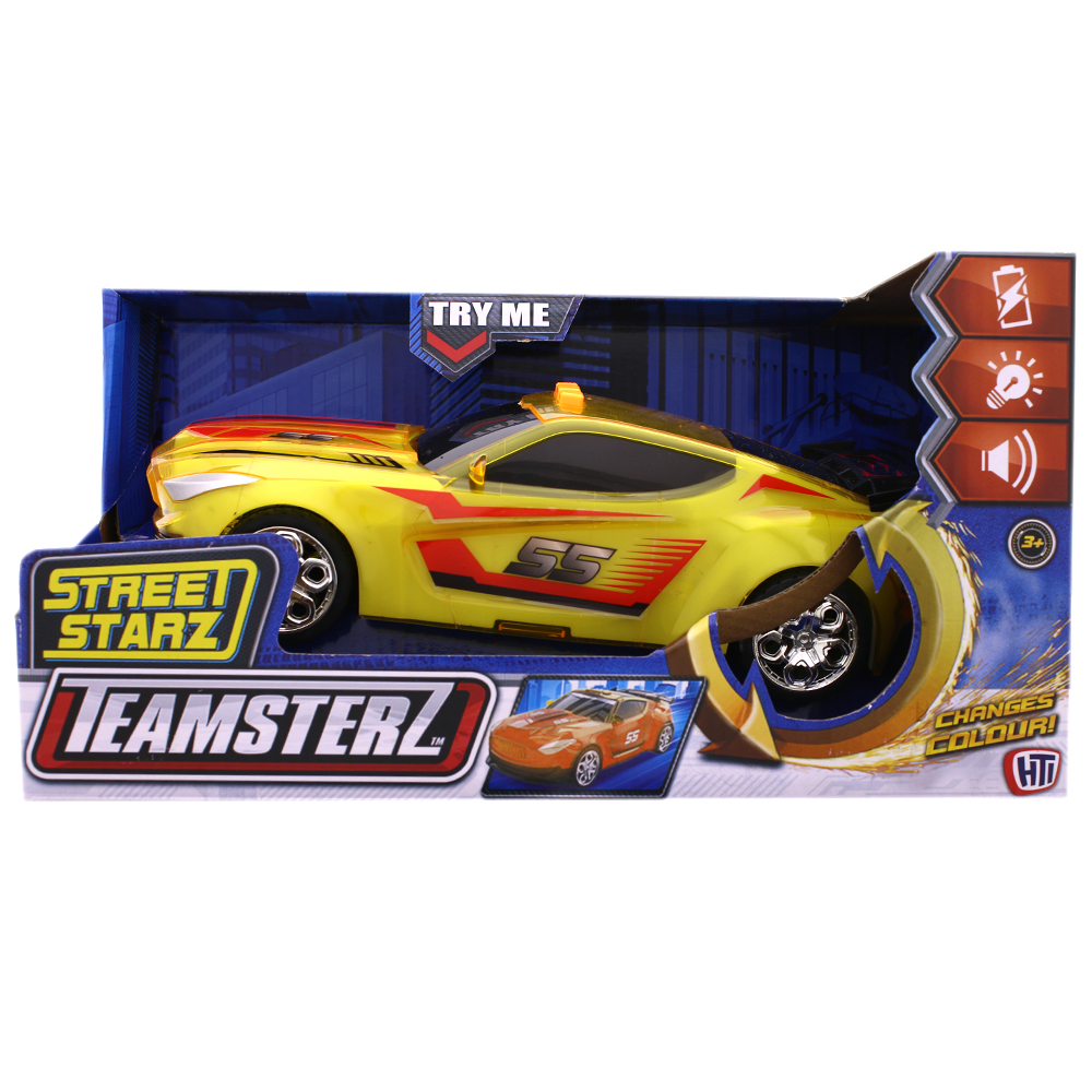 Picture of Teamsterz Street Starz Colour Change Car - Yellow