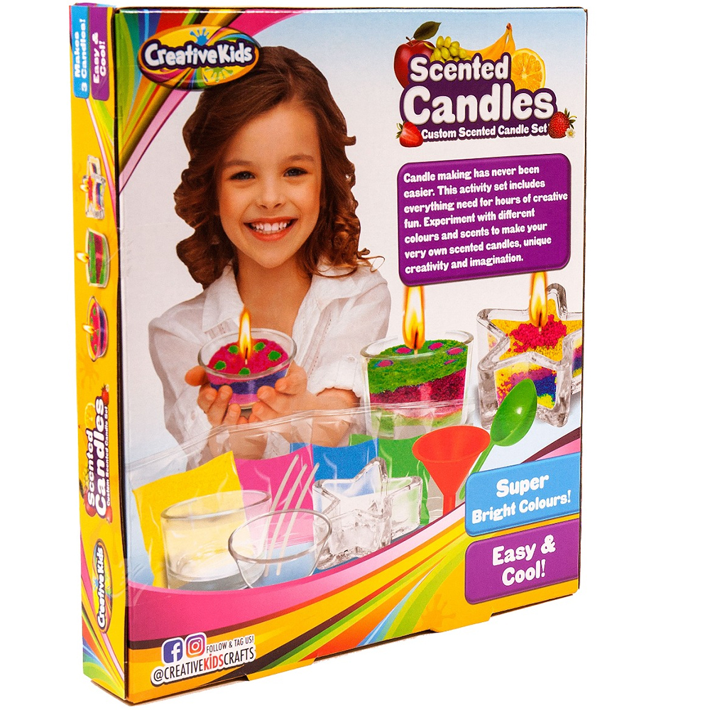 Picture of Creative Kids Scented Candles Set