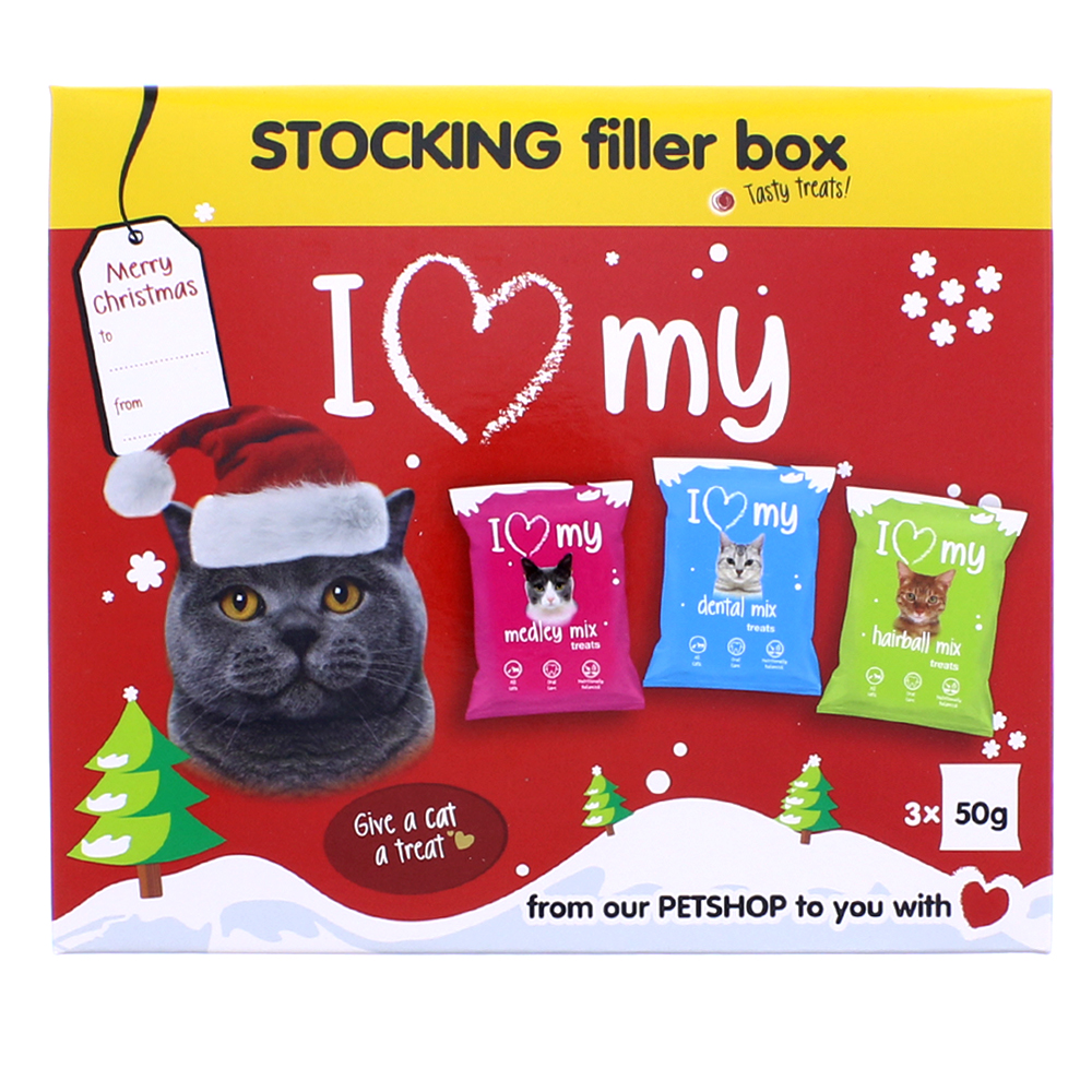 Picture of I Love My Cat Stocking Filler Box (Case of 16)
