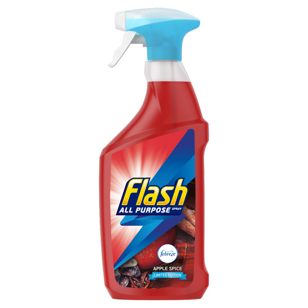 Picture of Flash Christmas Spray Limited Edition Apple Spice Multi Purpose Cleaner (5 x 730ML)