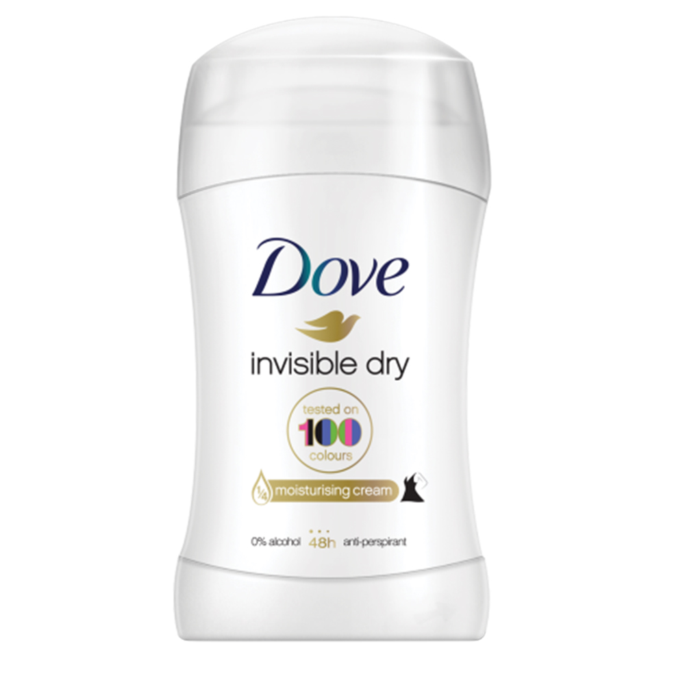 Picture of Dove Invisible Dry Antiperspirant Stick 40ml (Case of 6)