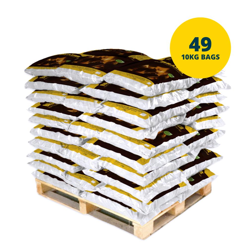 Picture of Pallet of 49 Bags Brazier Multipurpose Smokeless Fuel (*Including Home Delivery)