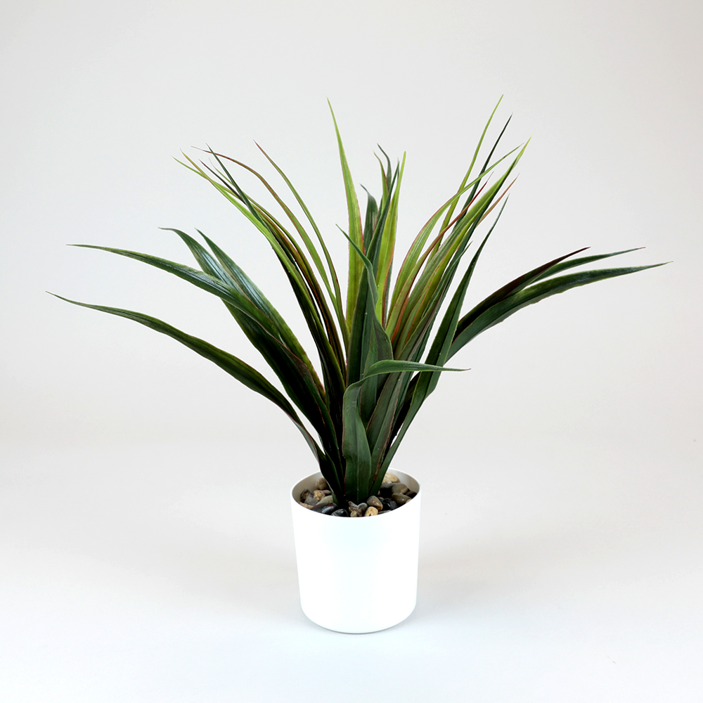 Picture of Home Collections: Artificial Faux Plant in White Pot