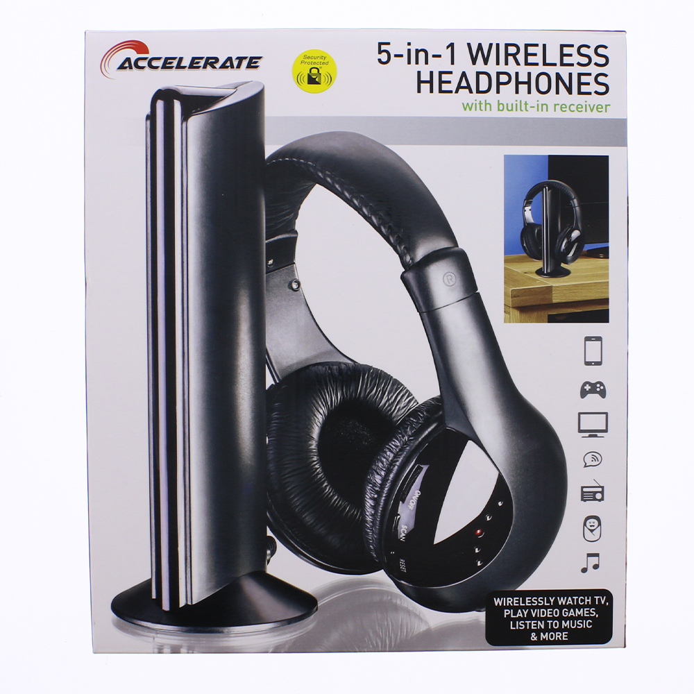 Picture of Accelerate 5-in-1 Wireless Headphones