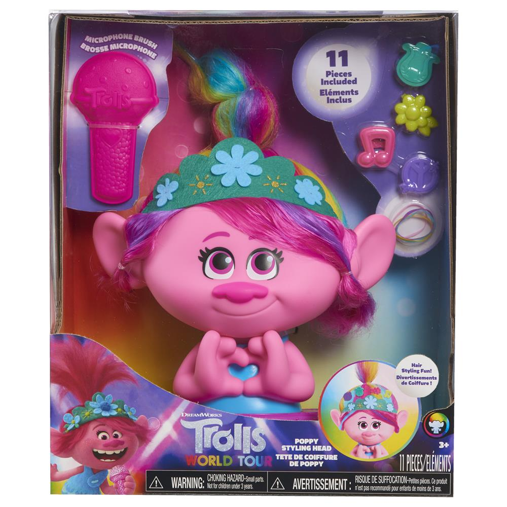 Picture of Trolls World Tour Poppy Styling Head
