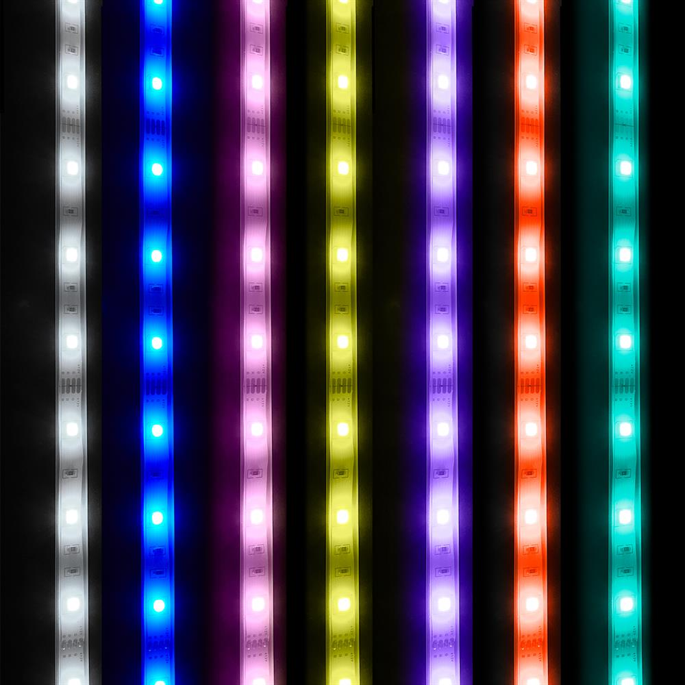 Picture of Prestige Lighting: 5m Mains Operated Colour Changing LED Remote Control Strip Lights