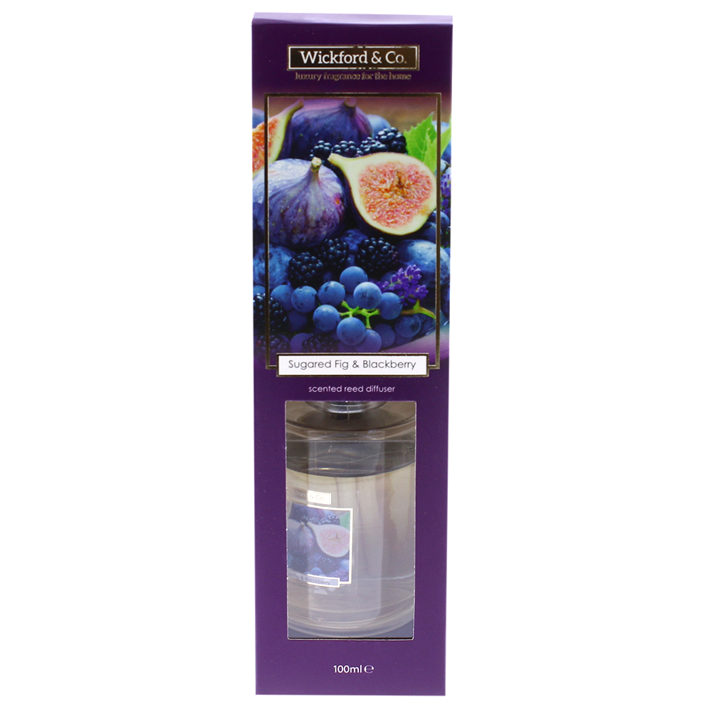 Picture of Wickford & Co. Scented Reed Diffuser - Sugared Fig & Blackberry 100ml