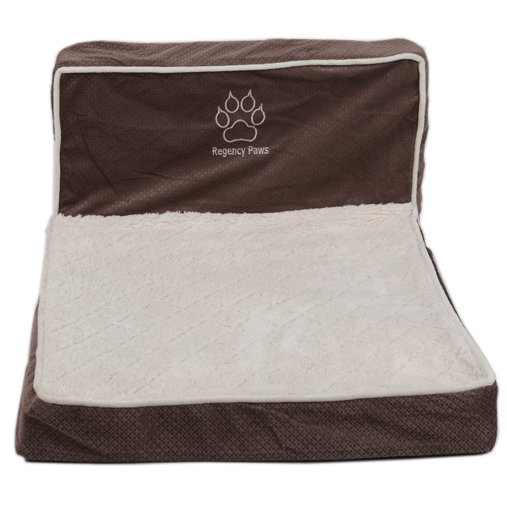 Picture of MyPets Lounger Pet Bed Brown