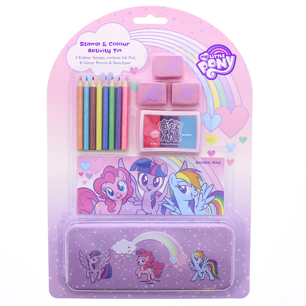 Picture of My Little Pony Stamp and Colour Activity Tin