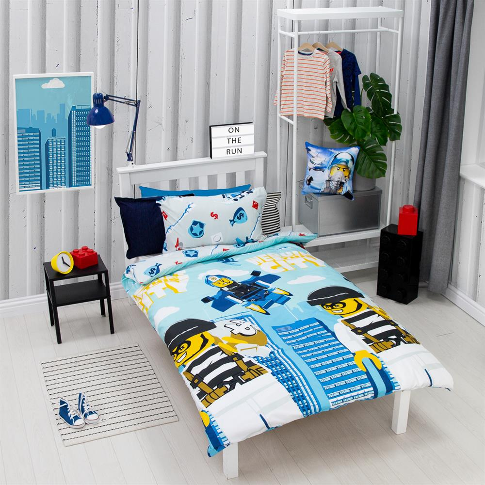 Picture of LEGO City on the Run Single Reversible Duvet Set