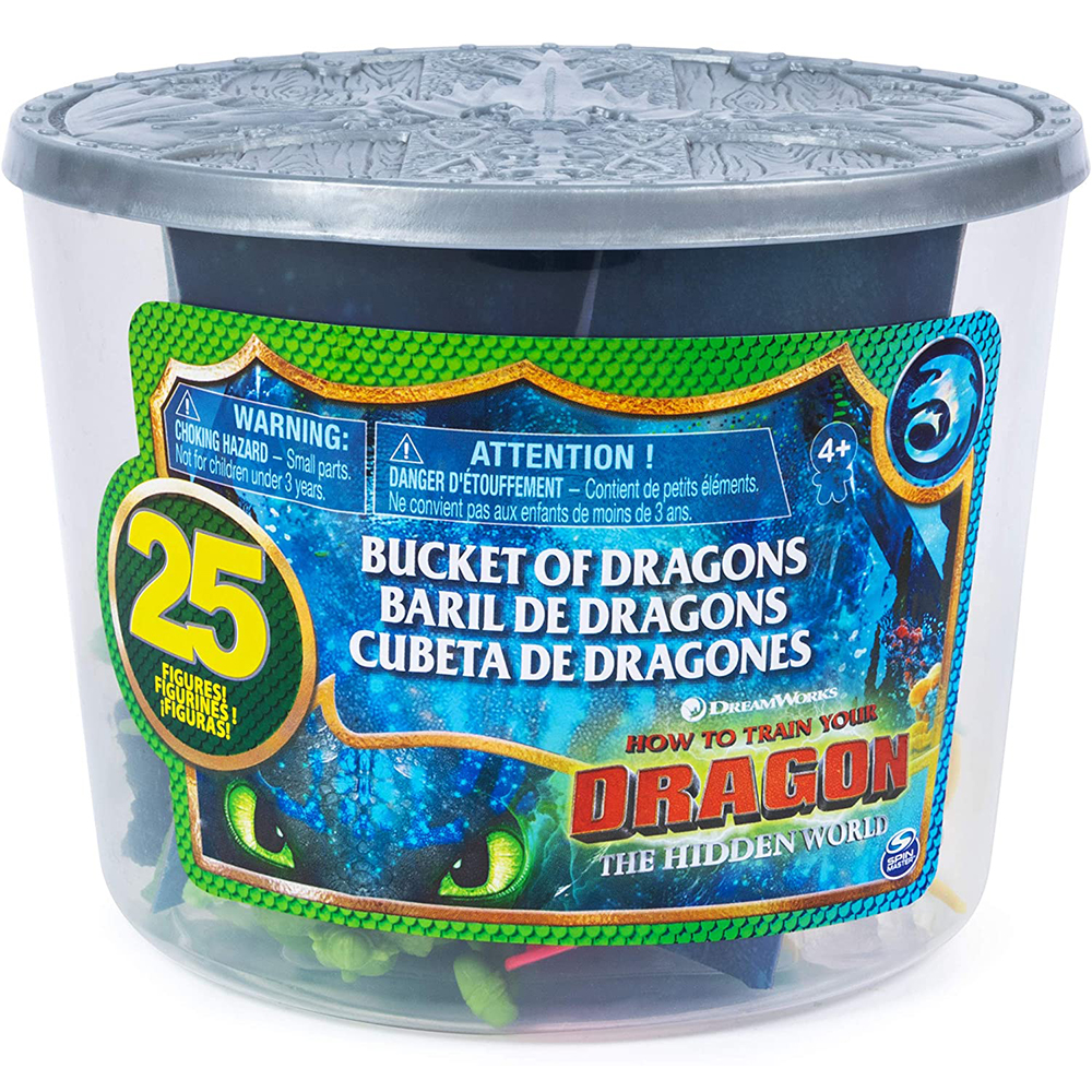 Picture of How to Train your Dragon: Hidden World - Bucket of Dragons