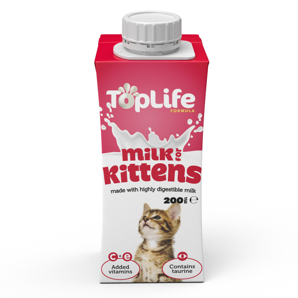 Picture of TopLife Milk for Kittens (Case of 18)