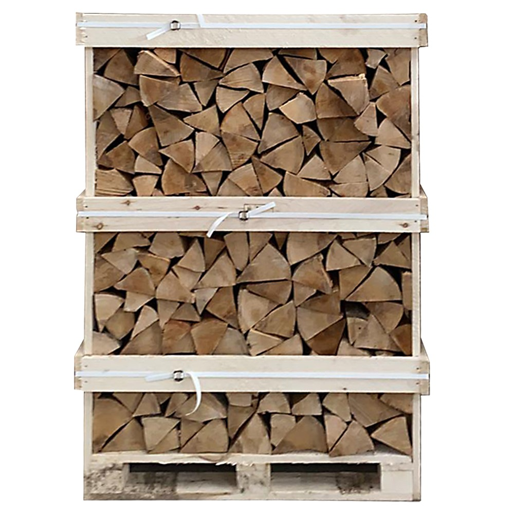 Picture of Large Loose Kiln Dried Birch Log Crate (*Including Home Delivery)
